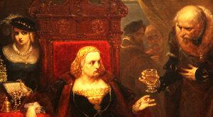 """""""Otrucie królowej Bony"""" - obraz Jana Matejki przedstawia tajemniczą śmierć"""